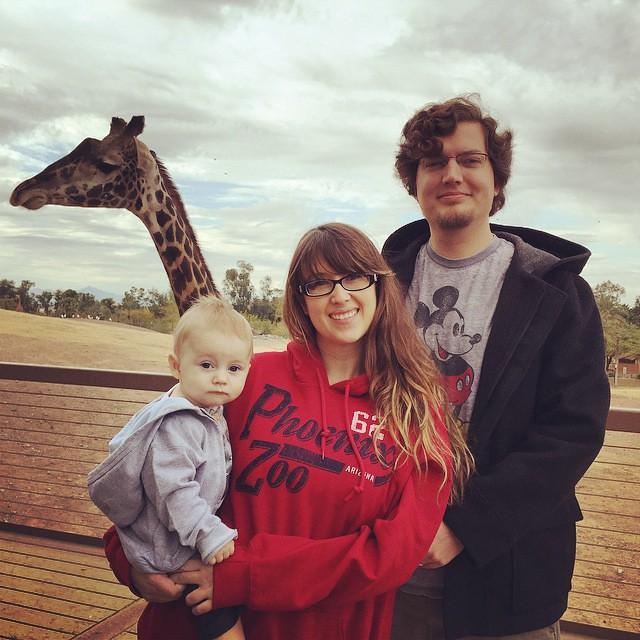 Feeding the Giraffes! by bartle_man