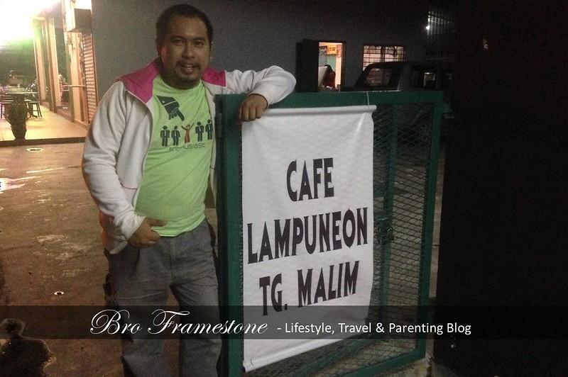 Bro Framestone Review Cafe LampuNeon Tanjung Malim