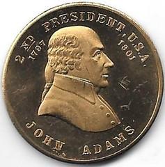 Numismatic Scrapbook Contributor's Medal Pres. #2 001