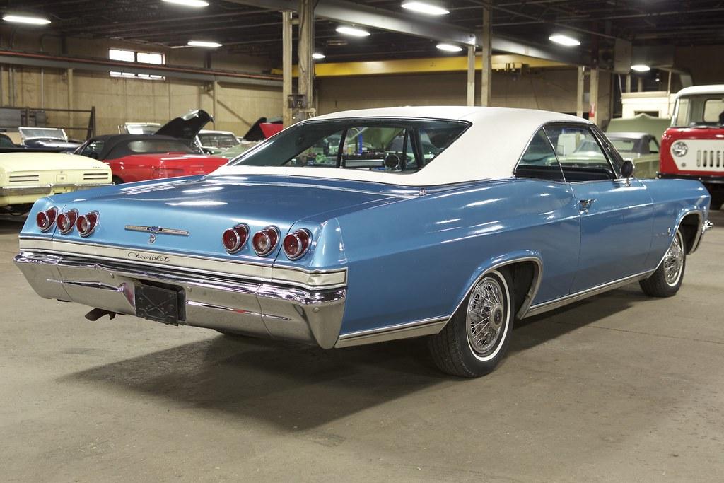 1965 Chevy Impala 327 2 Door Hardtop For Sale On Bat