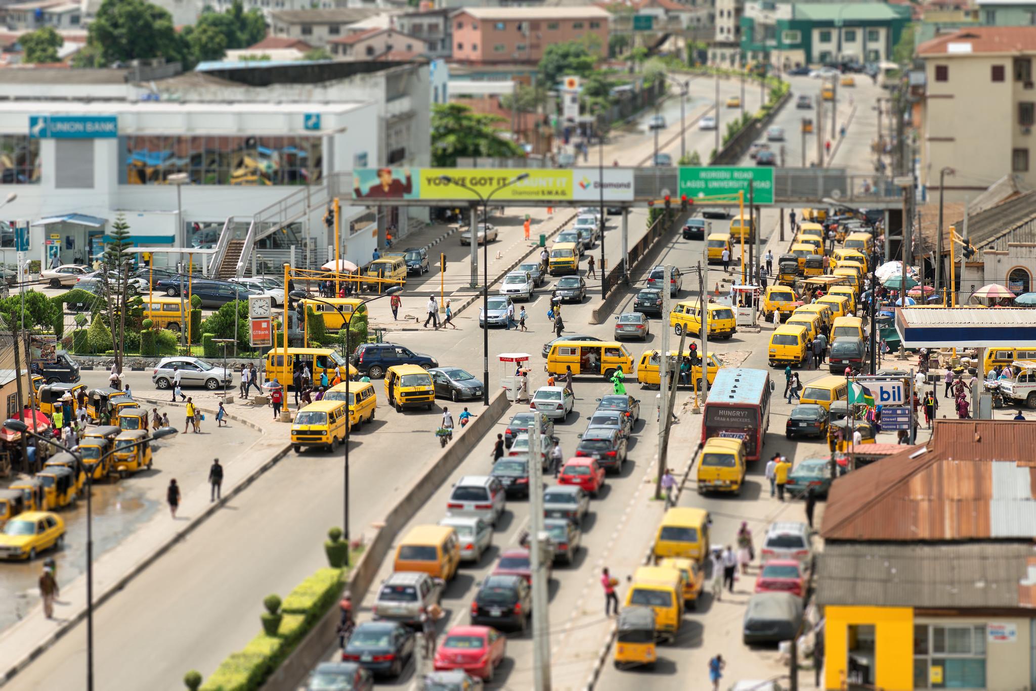 Mainland Lagos Traffic
