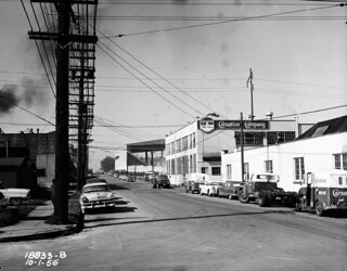 Harrison Street and Taylor Avenue, 1956