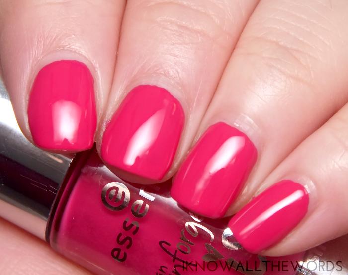 essence nail polish- 04 pink me