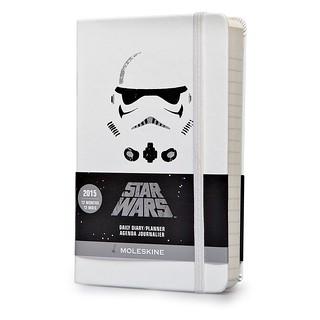 MOLESKINE【2015 星際大戰行事曆】Star Wars 頭盔主題限定行事曆