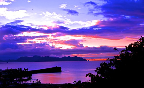 ocean sunset sea seascape sonora clouds sunrise landscape mexico peninsula sancarlos seaofcortez promontory