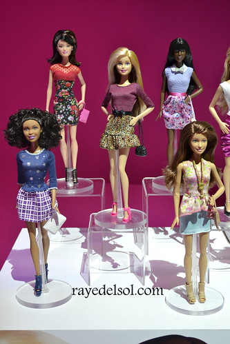 Barbie Fashionista Dolls 2015 Barbie at Toy Fair