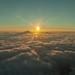 Sunrise above Auckland by pixelgrit