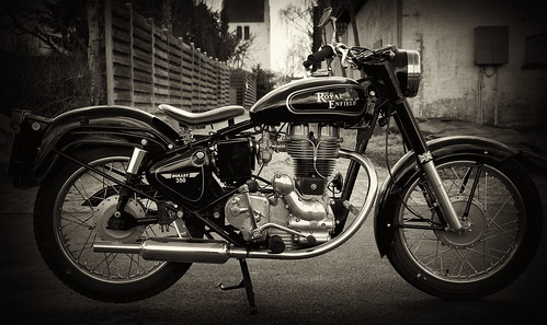 Royal Enfield Bullit 350 1975