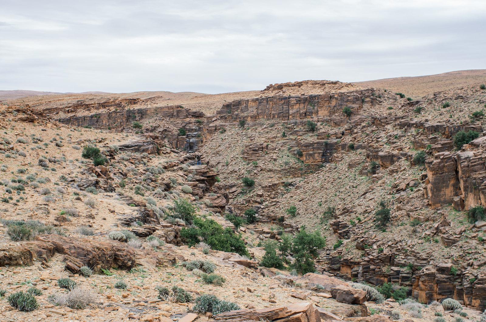 Amtoudi, anti-Atlas - 5 jours de trek au Maroc - Sur le plateau