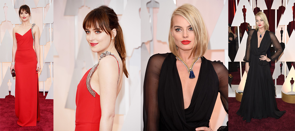 Oscars15-Dakota-Johnson-Margot-Robbie
