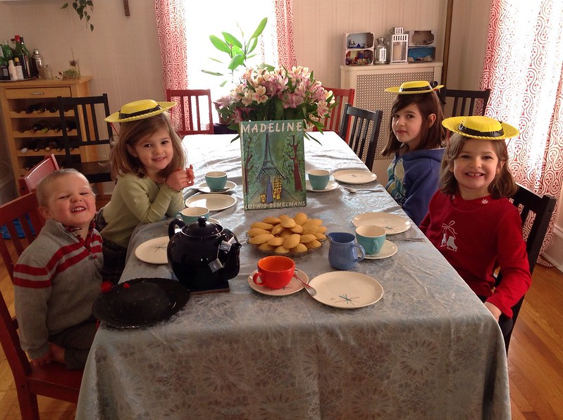 Madeline tea party