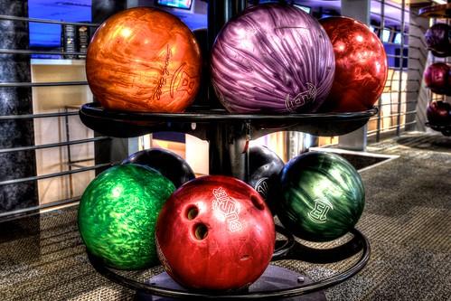Bowling Balls HDR
