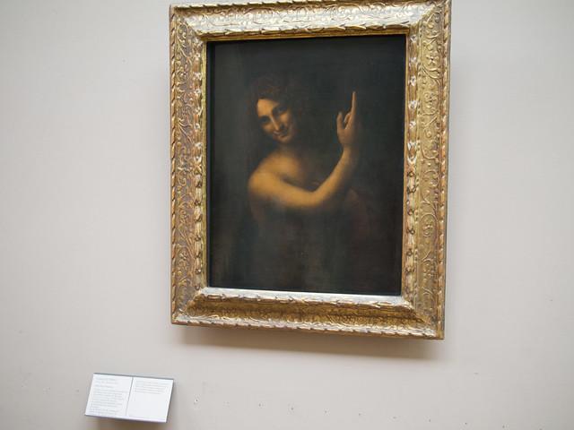 St. John the Baptist - Leonardo da Vinci