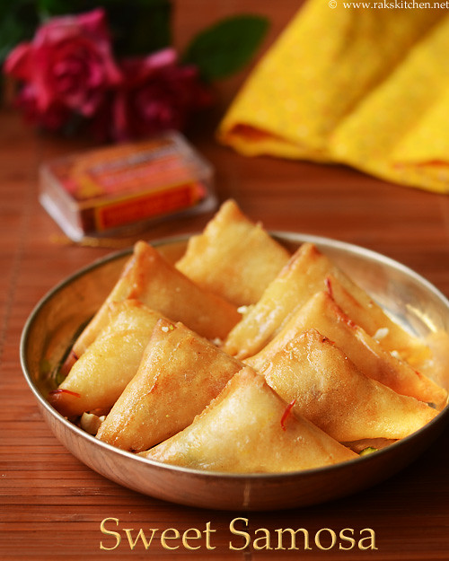 sweet samosa recipe