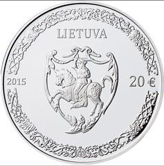 Lithuania Mikalojus Radvila coin reverse