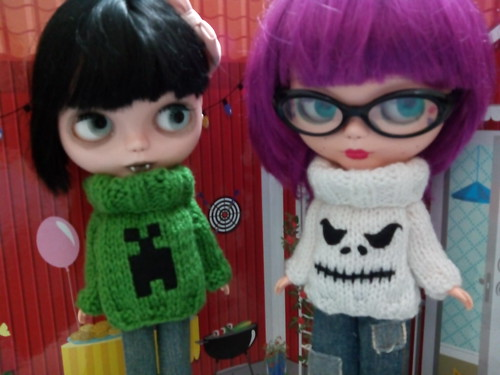 Jerseis frikis Creeper y Jack Skeleton F.A. 8 luminolas
