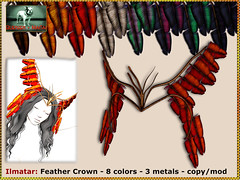 Bliensen - Ilmatar - Feather Crown