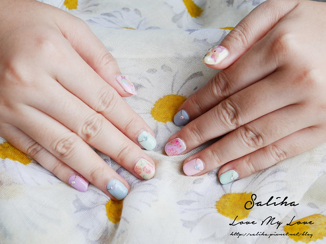 馬卡龍光療指甲 (9)