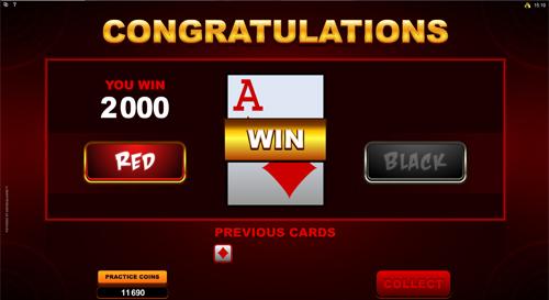 Lucky Firecracker Gamble Feature