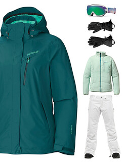 women's ski outfit package rental