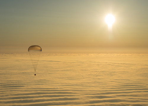 Expedition 42 Soyuz TMA-14M Landing (201503120102HQ)