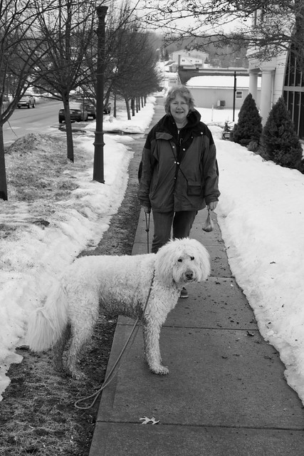 IMG_3825 Woman with White Dog
