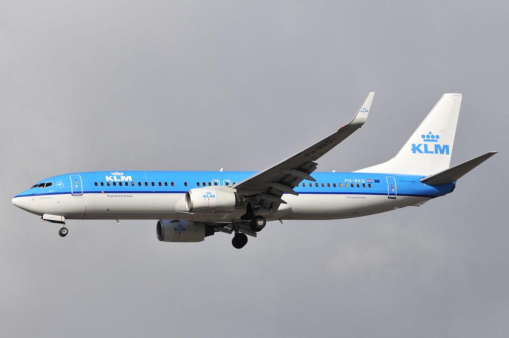 PH-BXD - B738 - KLM