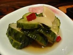 Pickled Garlic Cucumber @Kazuki, Gubei, Shanghai