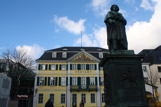 Statue of Beethoven in Bonn, Germany