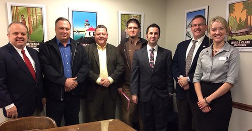 Rep. Stambaugh meets with members of The Master Builders Association of Pierce County