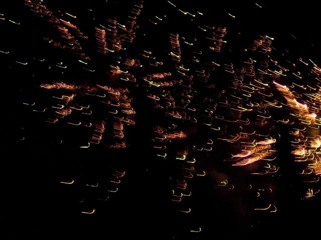Chap Goh Meh fireworks Sibu 2015