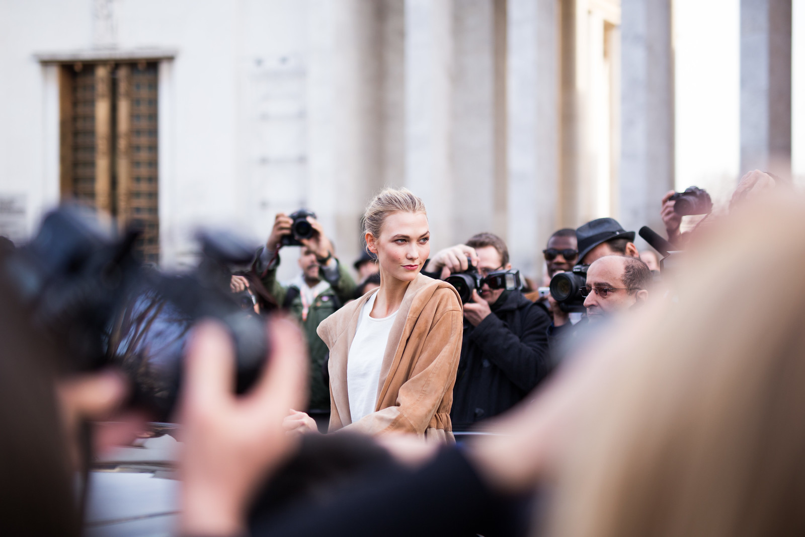 Street Style - Karlie Kloss, Paris Fashion Week