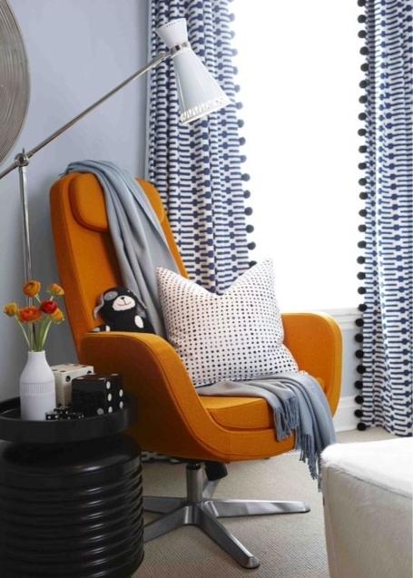 Decorating with Orange | #LivingAfterMidnite