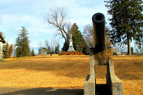Confederate Memorial Thornrose Cemetery Staunton Virginia