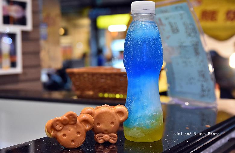 台中小熊燒紅豆餅漸層飲料13