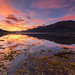 Loch Duich Sunset. by Gordie Broon.