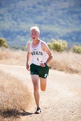 Spencer finishing 8th