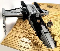 X-Wing Crash 1