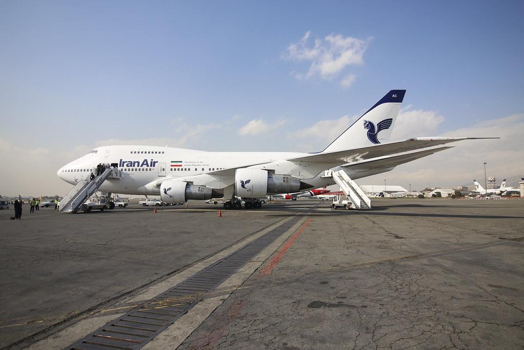 IranAir B747SP
