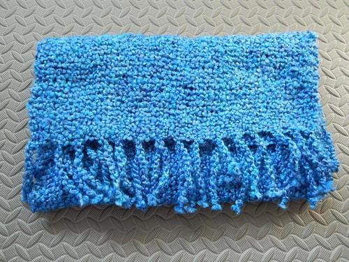 Woven prayer shawl