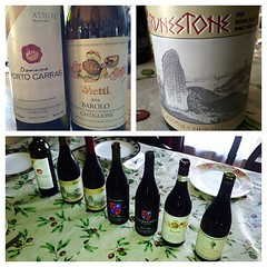 It's an international #wine event at our house for #Thanksgiving