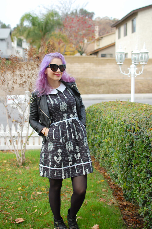 Modcloth Folter Rad to the Bone dress 005