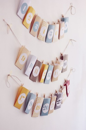 6 Calendarios de Adviento DIY