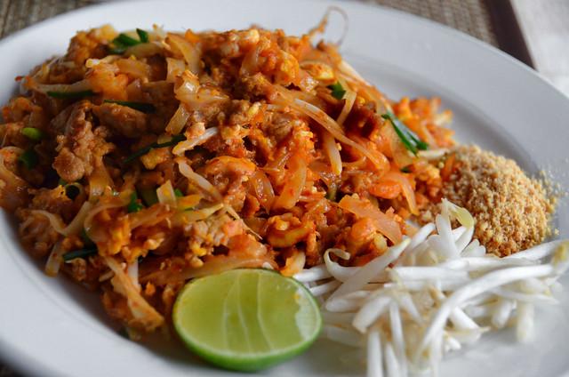 Comida típica de Tailandia, el Pad Thai