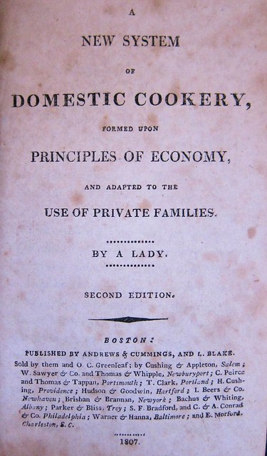 rundell domsetic cookery 1807