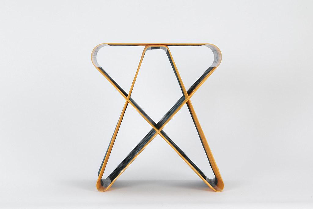 AndreyAndShay - woven bench