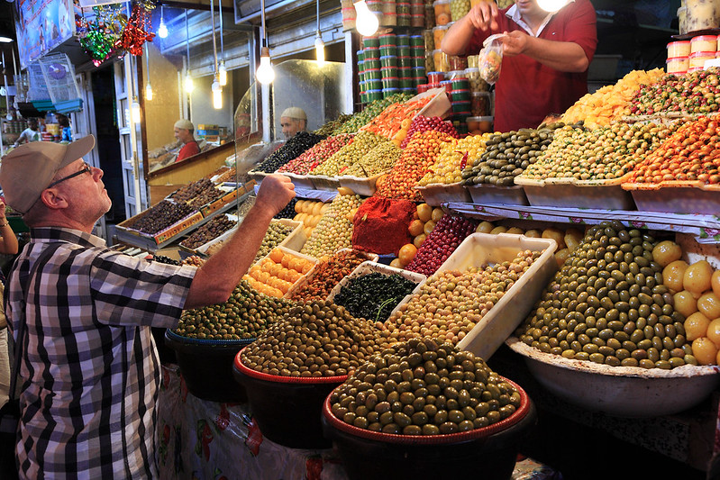 Buying olives