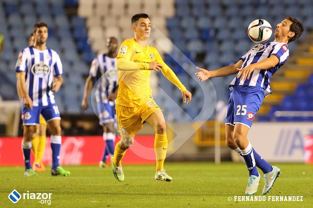 Copa del Rey. R.C.Deportivo - Málaga