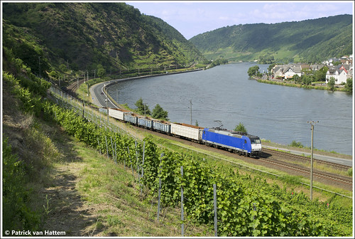 train deutschland nikon zug trein mosel 185 501 bous moezel moselbahn 95022 kattenes cl001 captrain d3100