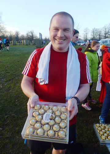 Rory Murphy and his Ferrero Rocher sweets!